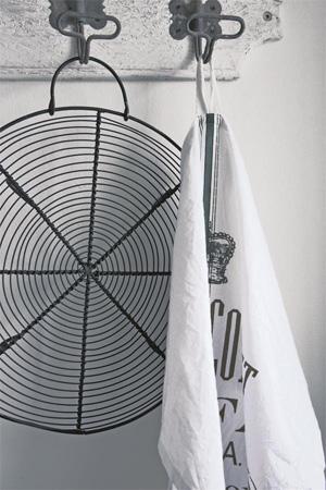 French Print Tea Towel