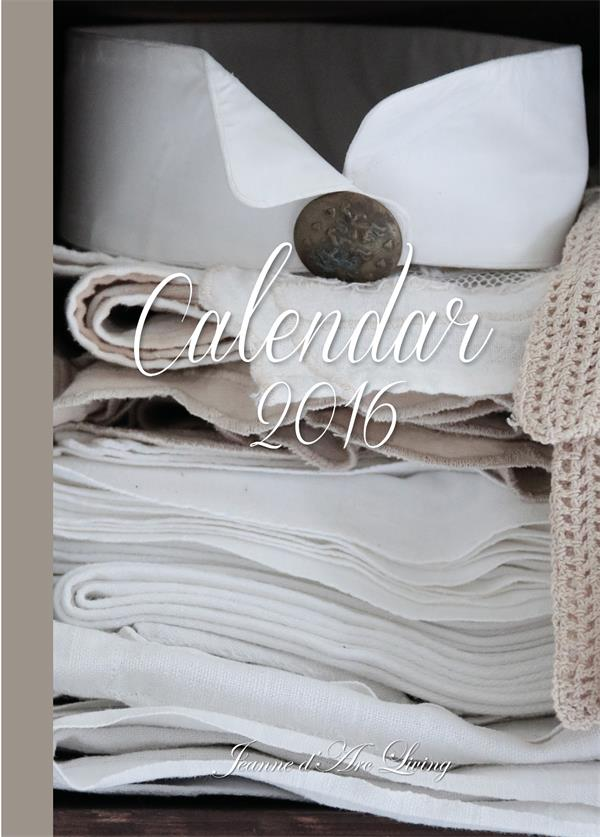 Jeanne d' Arc Living Calendar 2016 Book