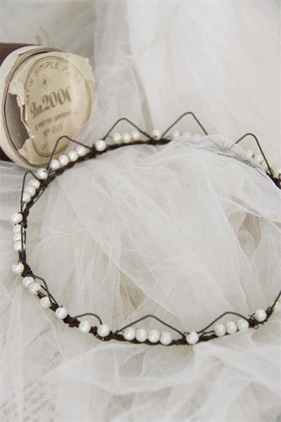 Antique Silver Crown