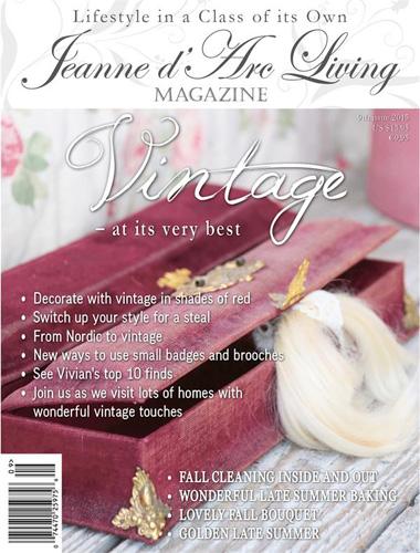 Jeanne d' Arc Living Magazine September 2015