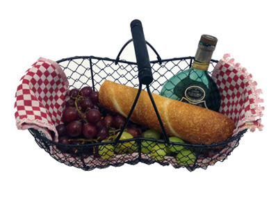 Mini French Oyster Basket