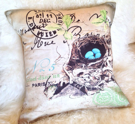 French Nest Pillow Slip Organic Cotton