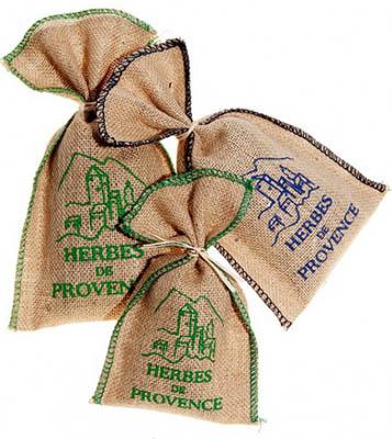 Herbes de Provence Jute Bag