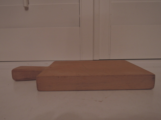 Details About Vintage French Wooden Cutting Bread Board Thick Wood Nice Patina Cheese